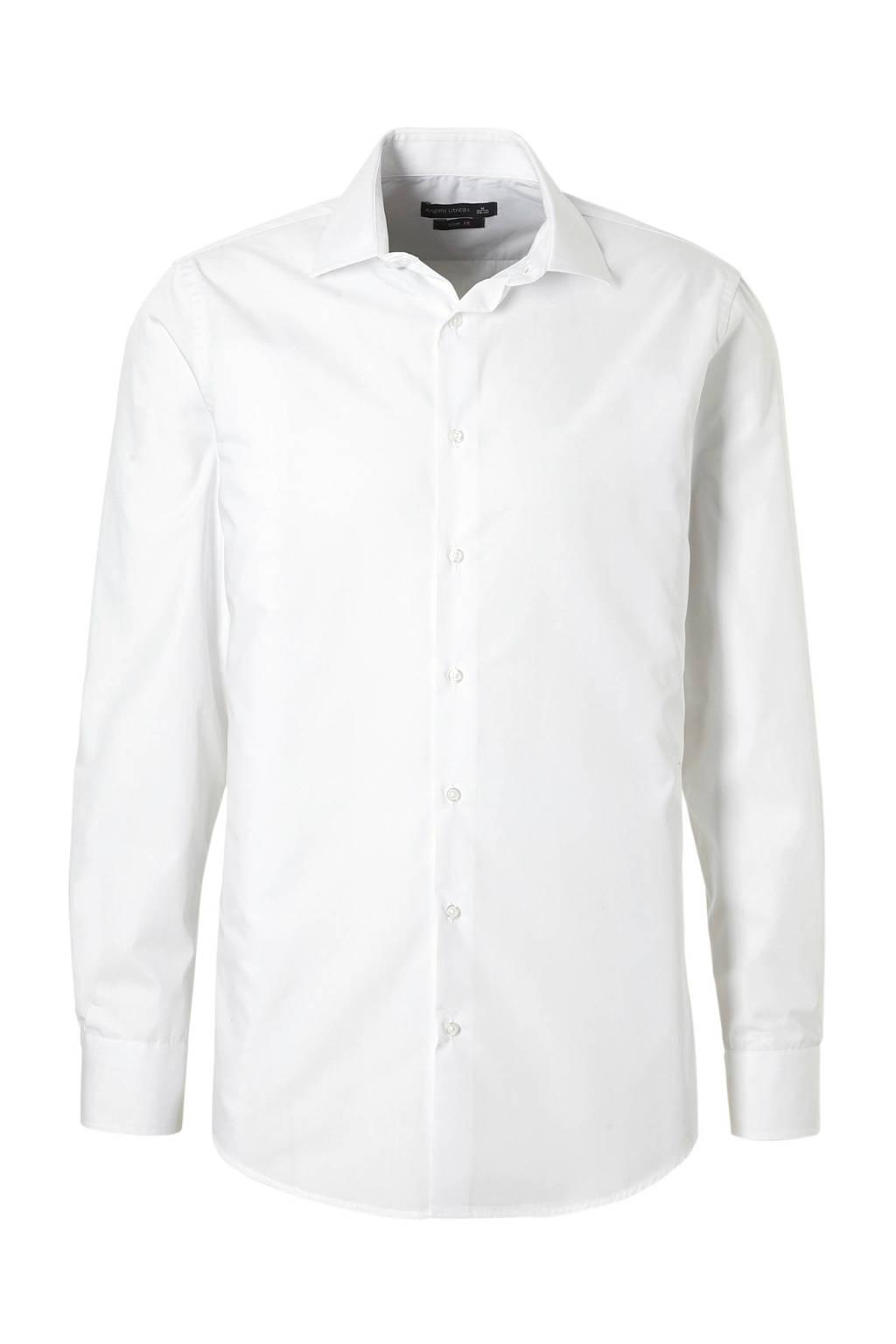 Slim Fit Wit Overhemd.C A Angelo Litrico Slim Fit Overhemd Wit Wehkamp
