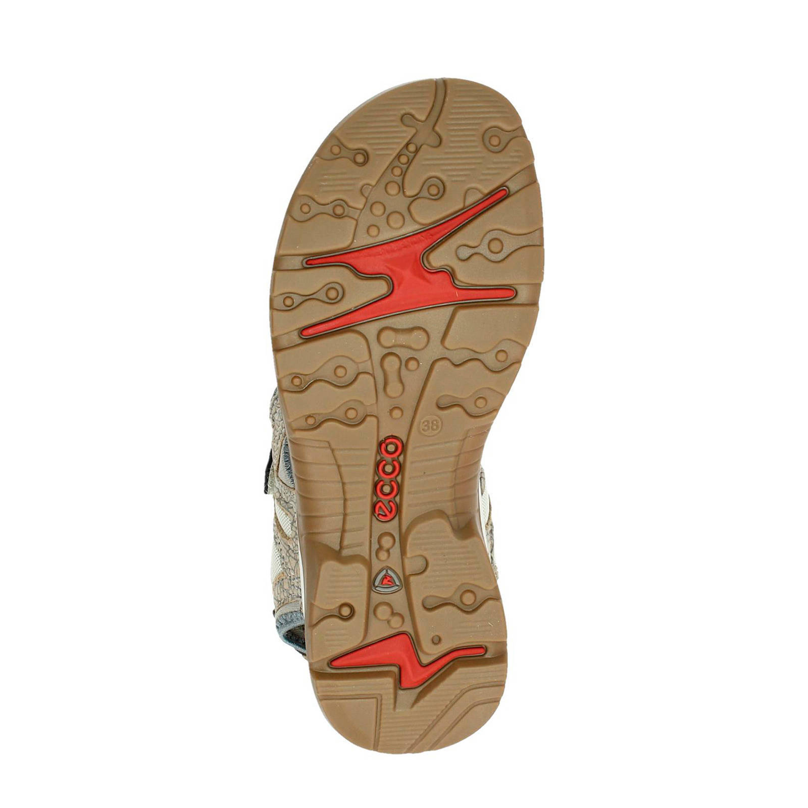 Ecco Offroad outdoor sandalen beige | wehkamp
