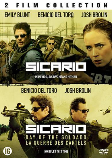 Sicario 1+2 (DVD)