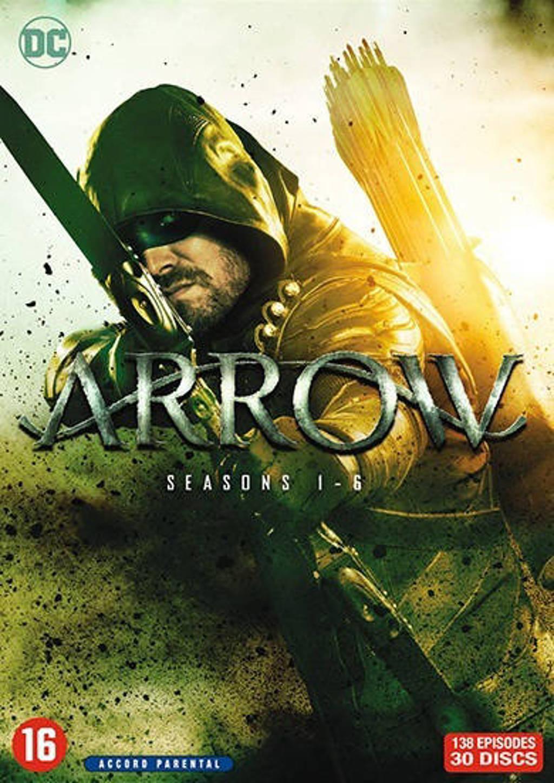 Arrow - Seizoen 1-6 (DVD)