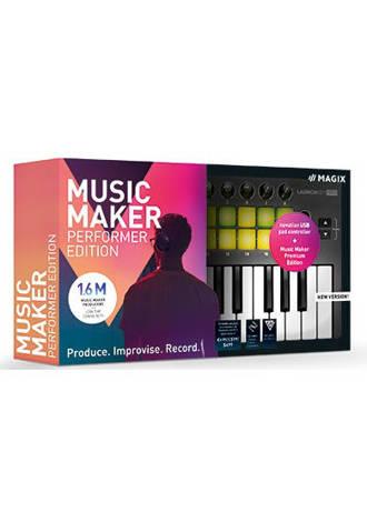 Magix music maker performer (PC)