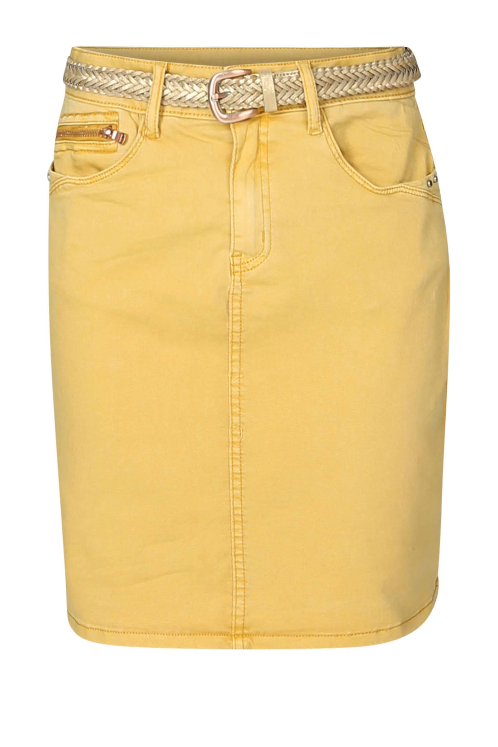 kokerrok geel