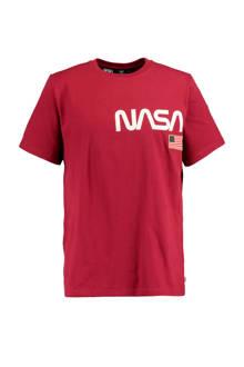 T-shirt Edgar rood