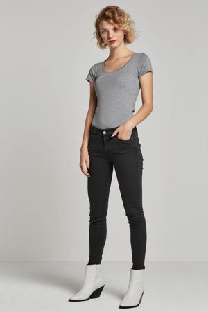 Trick basic T-shirt grijs