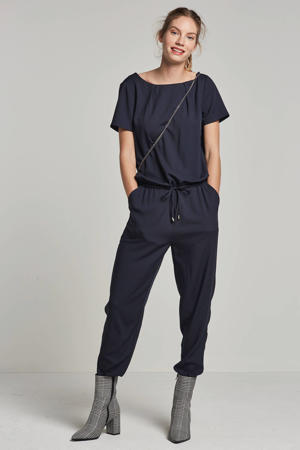 Campell jumpsuit donkerblauw