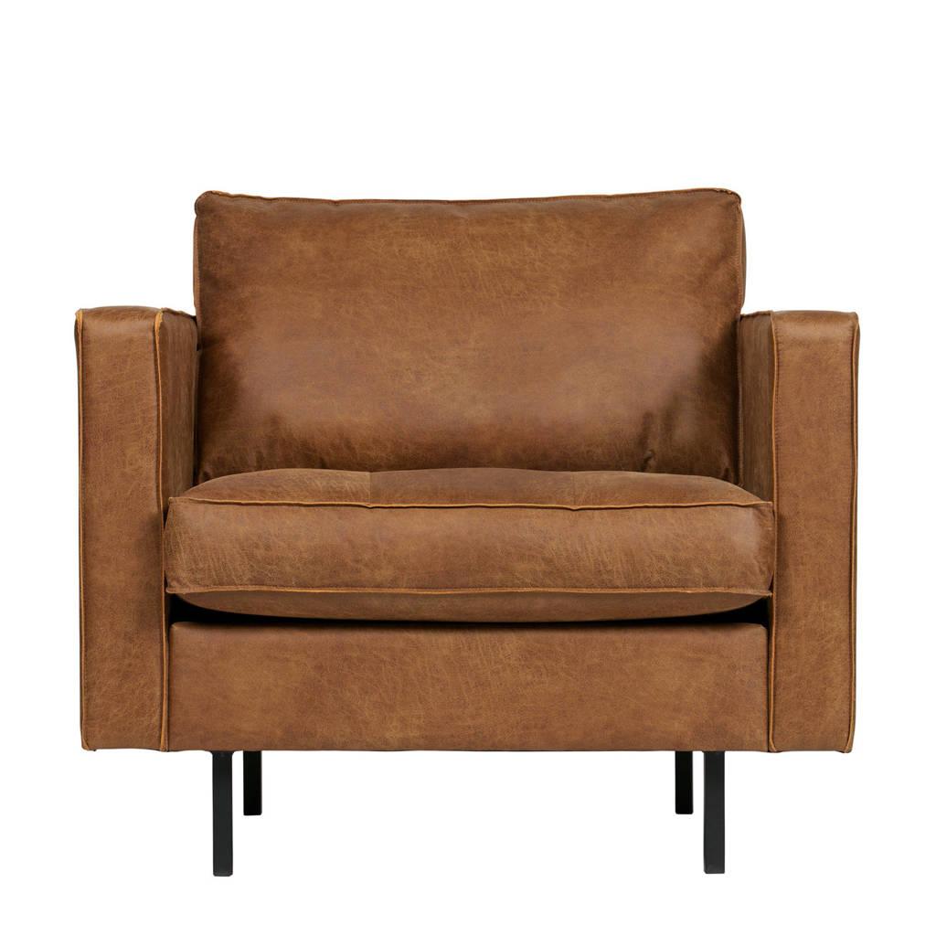 BePureHome eco-leren fauteuil Rodeo Classic, Cognac
