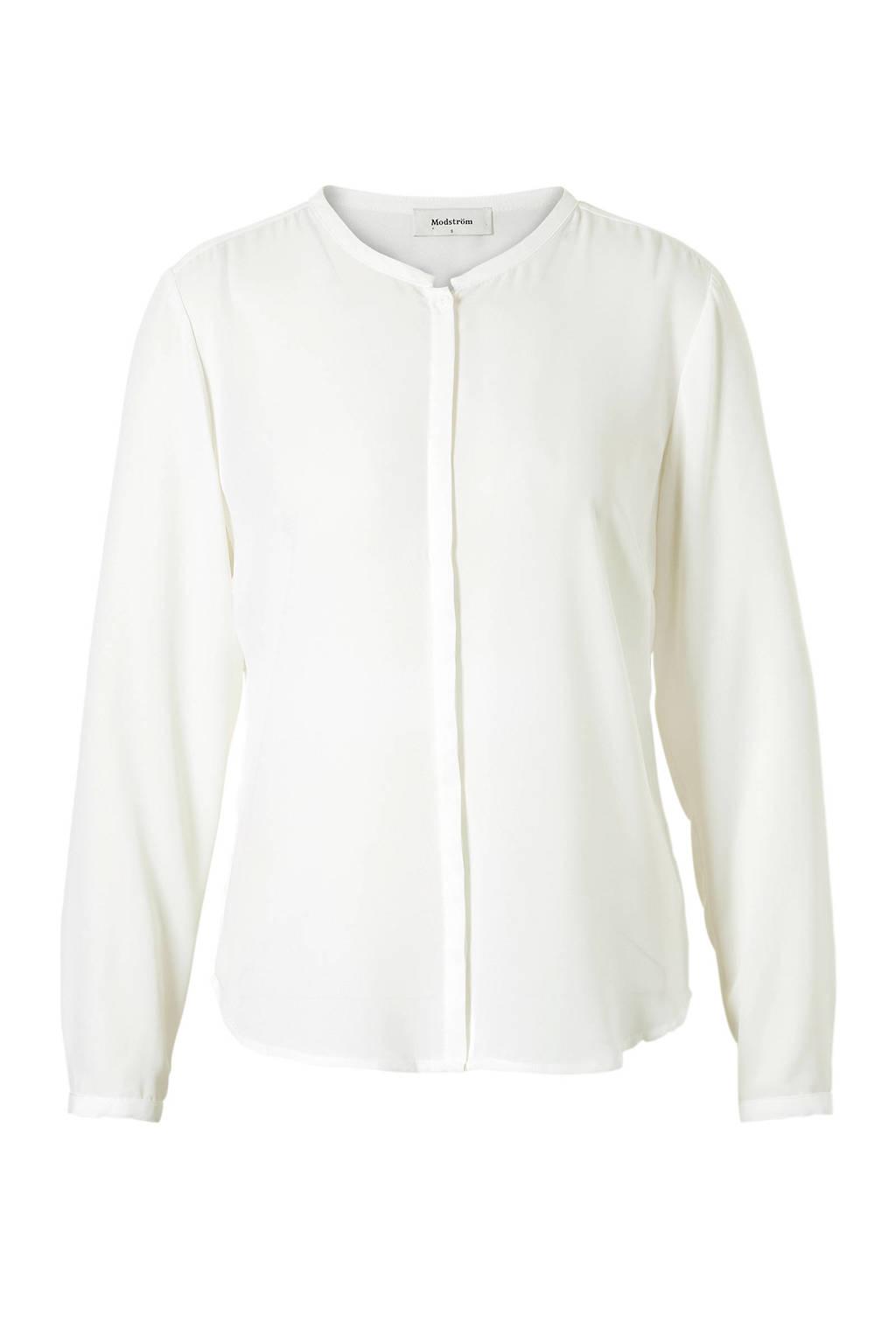 Modström Cylar blouse wit, Wit