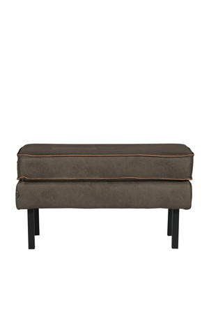 hocker Rodeo Classic eco-leer groen