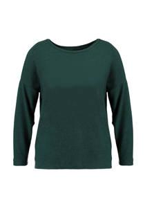 MS Mode trui donkergroen (dames)