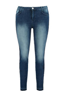 MS Mode skinny jeans donkerblauw (dames)