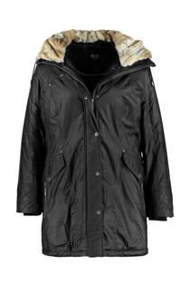 MS Mode winterjas zwart (dames)