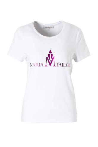 T-shirt met logo opdruk