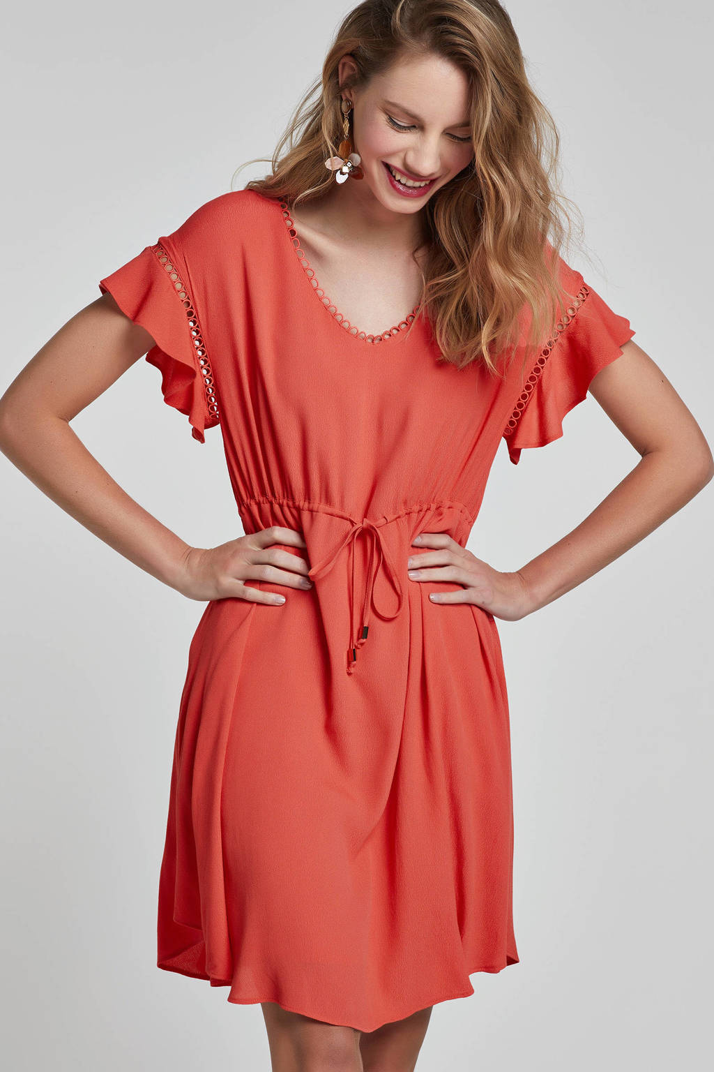 MARIA TAILOR jurk rood, Rood