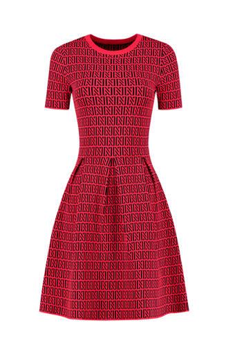 perfect logo jurk rood