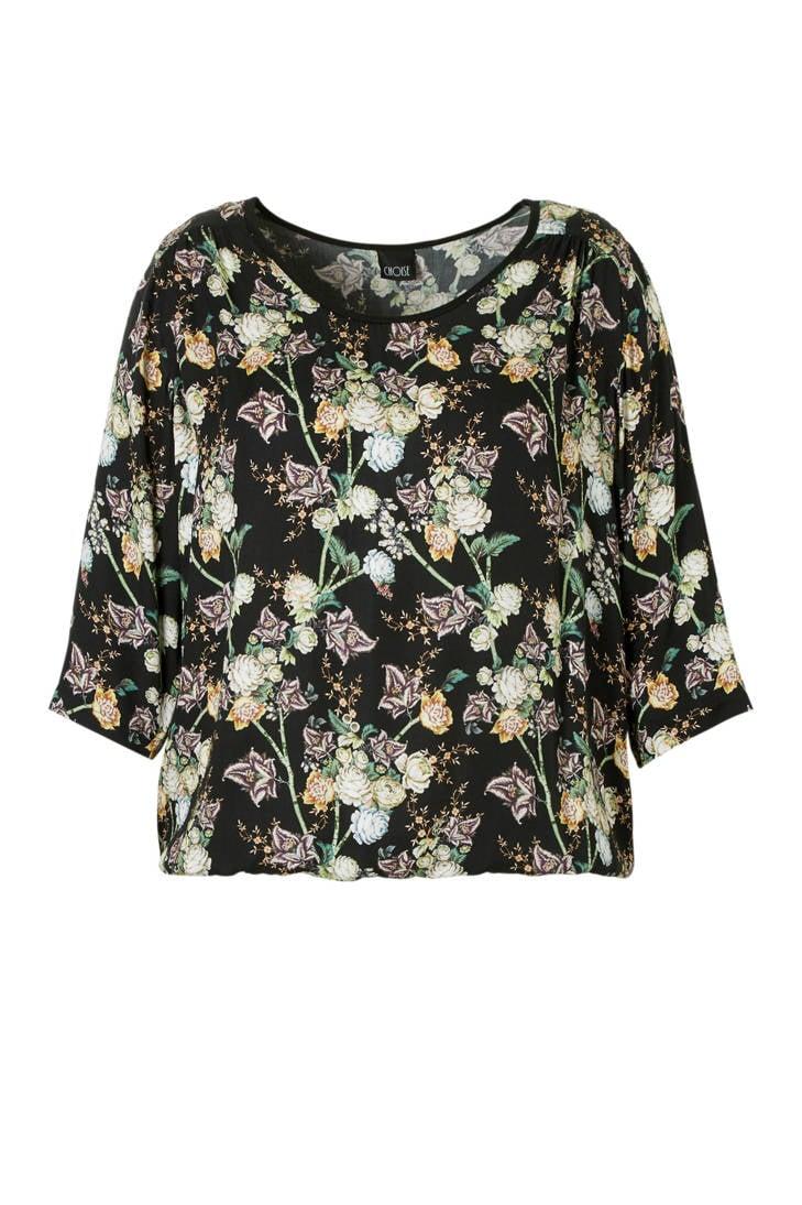 met blouse CHOISE bloemenprint blouse met CHOISE PWrSBOr
