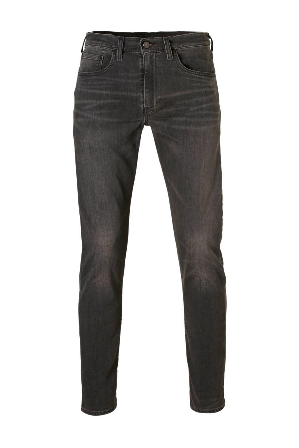 Levi's 502 taper regular fit jeans, Grijs