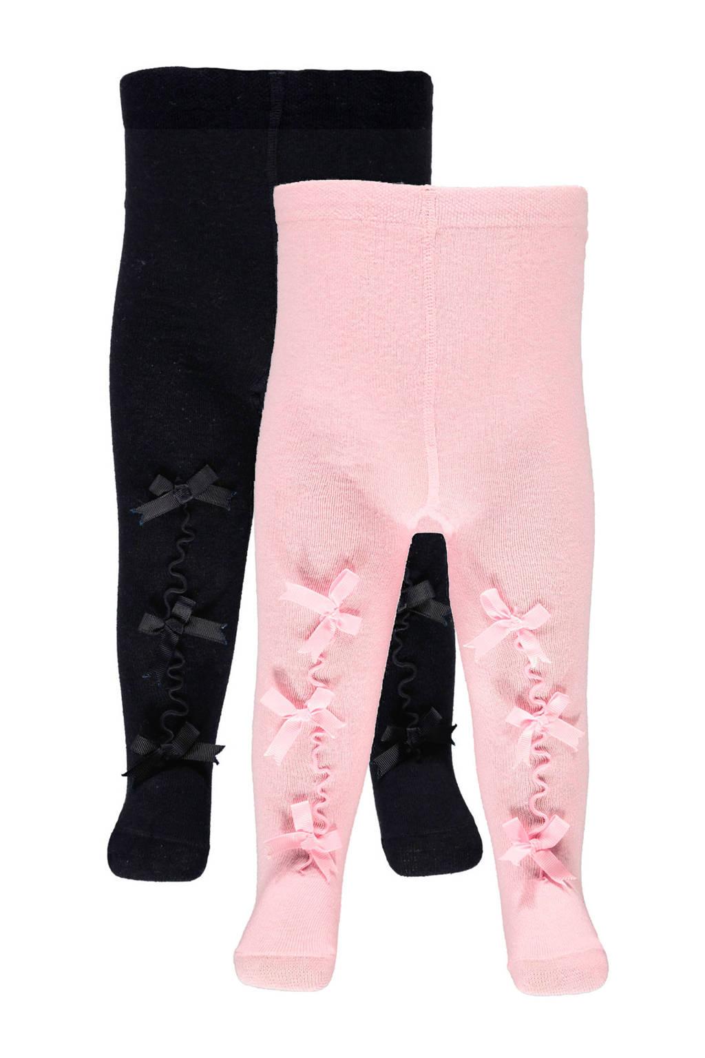 Apollo baby maillot (set van 2), Roze/blauw