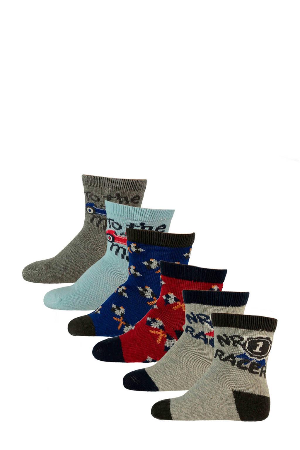 Apollo baby sokken (6 paar), Multicolor