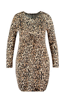 MS Mode jurk met panterprint