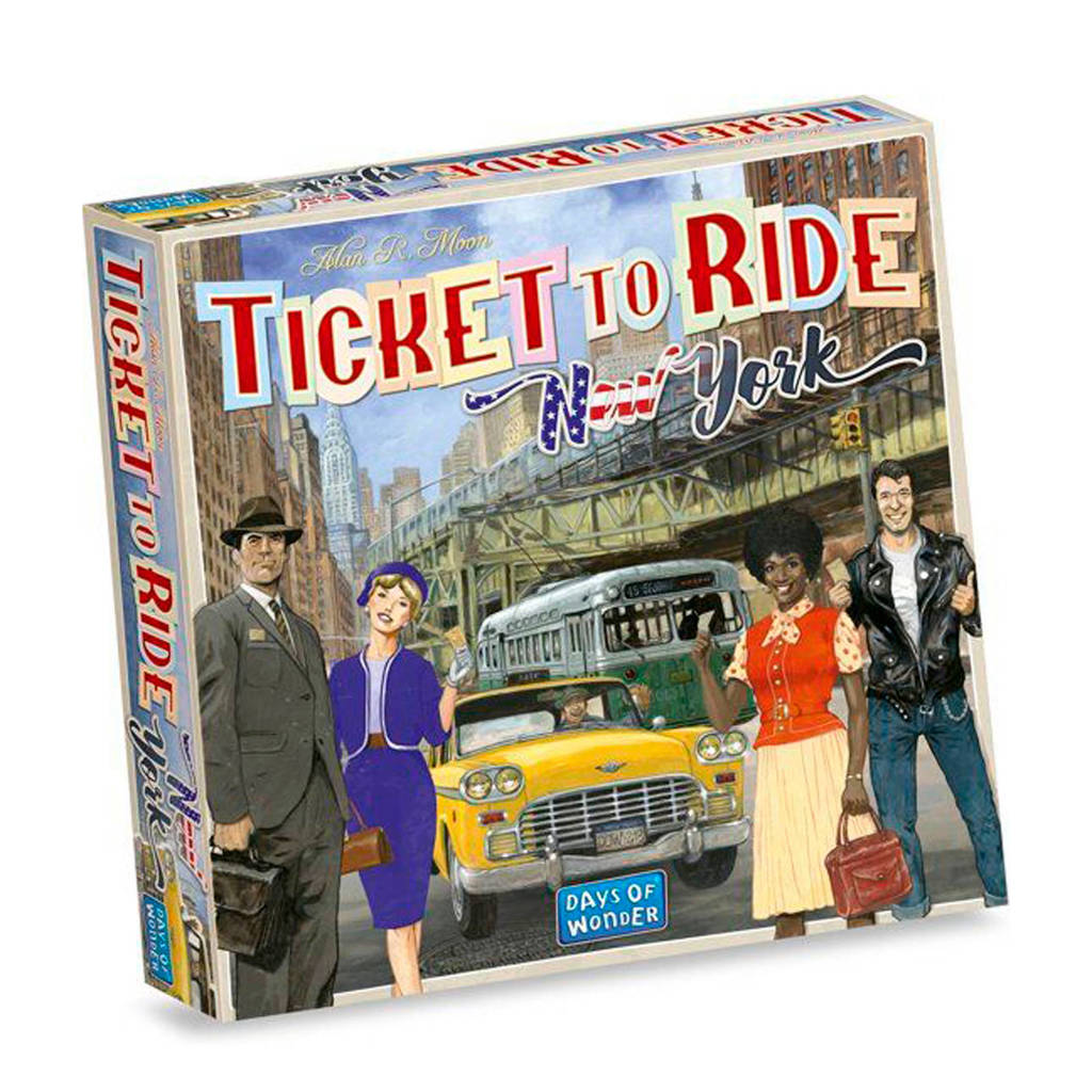 Days of Wonder Ticket to Ride New York bordspel