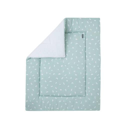 Petit Juul boxkleed groen/wit 75x95 cm kopen