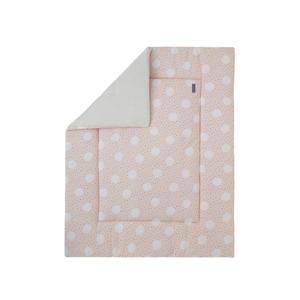boxkleed roze/creme/zwart 75x95 cm