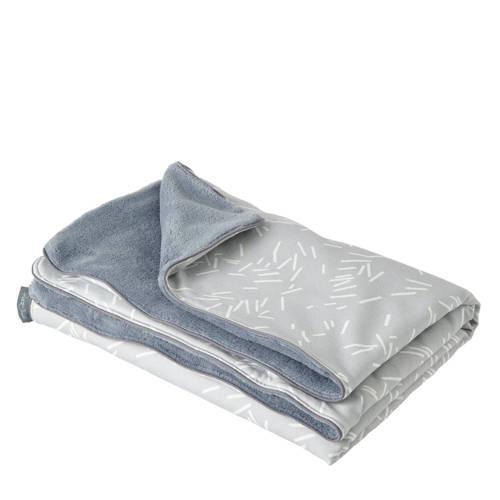 Petit Juul wiegdeken grijs 75x100 cm kopen