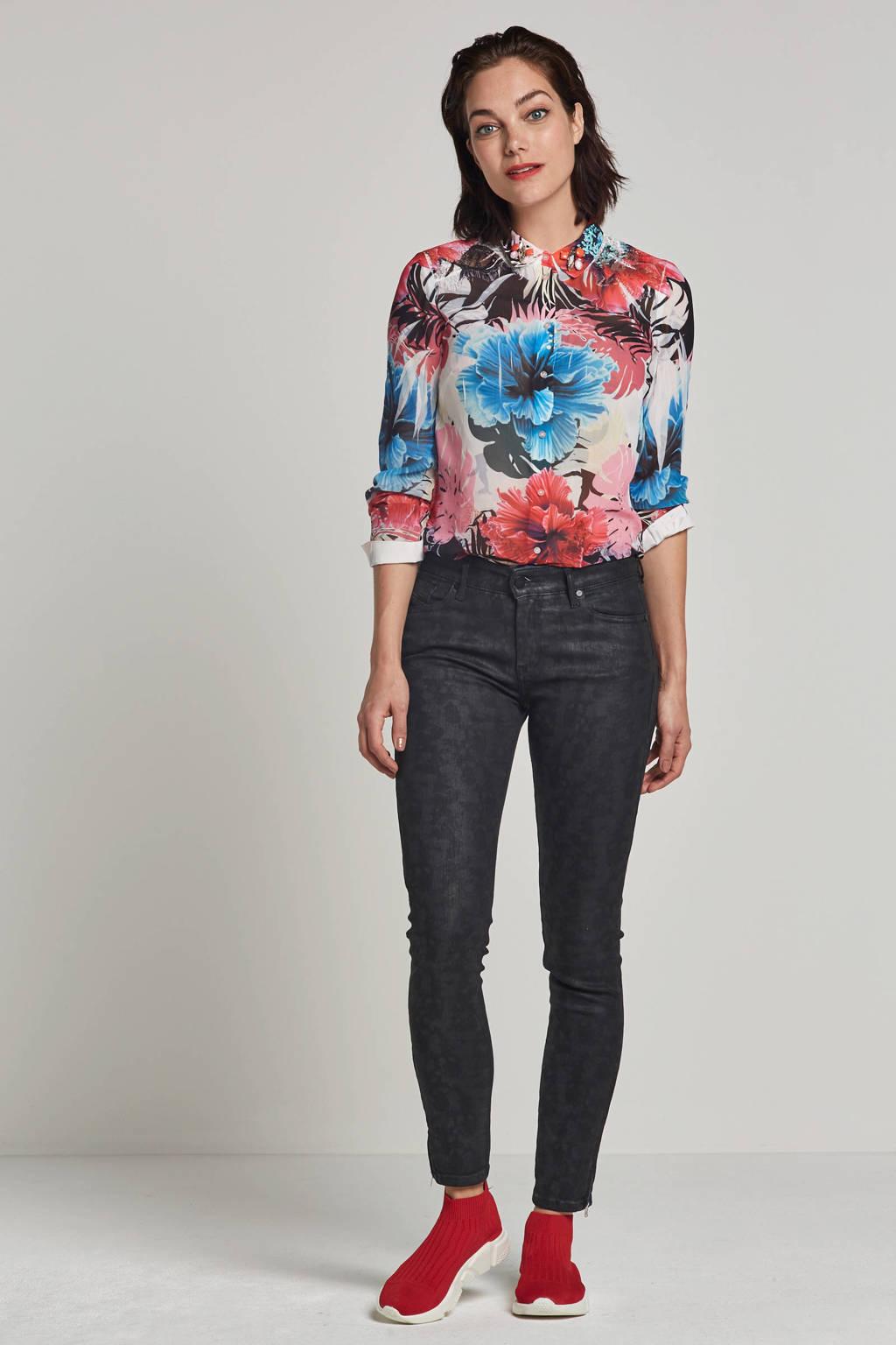 GUESS Clouis blouse met bloemendessin, Multi