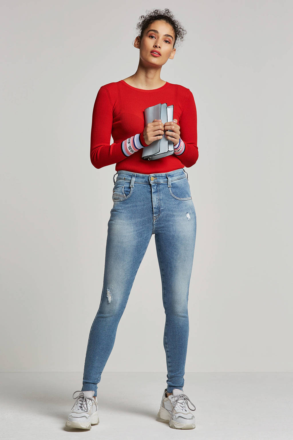 GUESS Charlotte sweater, Rood