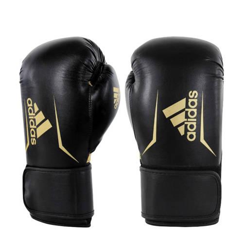 Adidas Speed 100 Bokshandschoenen Zwart-Goud 10 oz