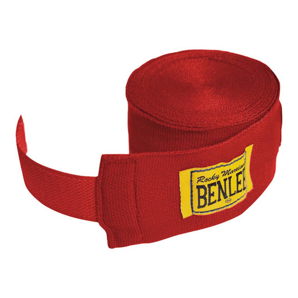 Benlee hand wraps bandage rood - 4,5 meter, Rood