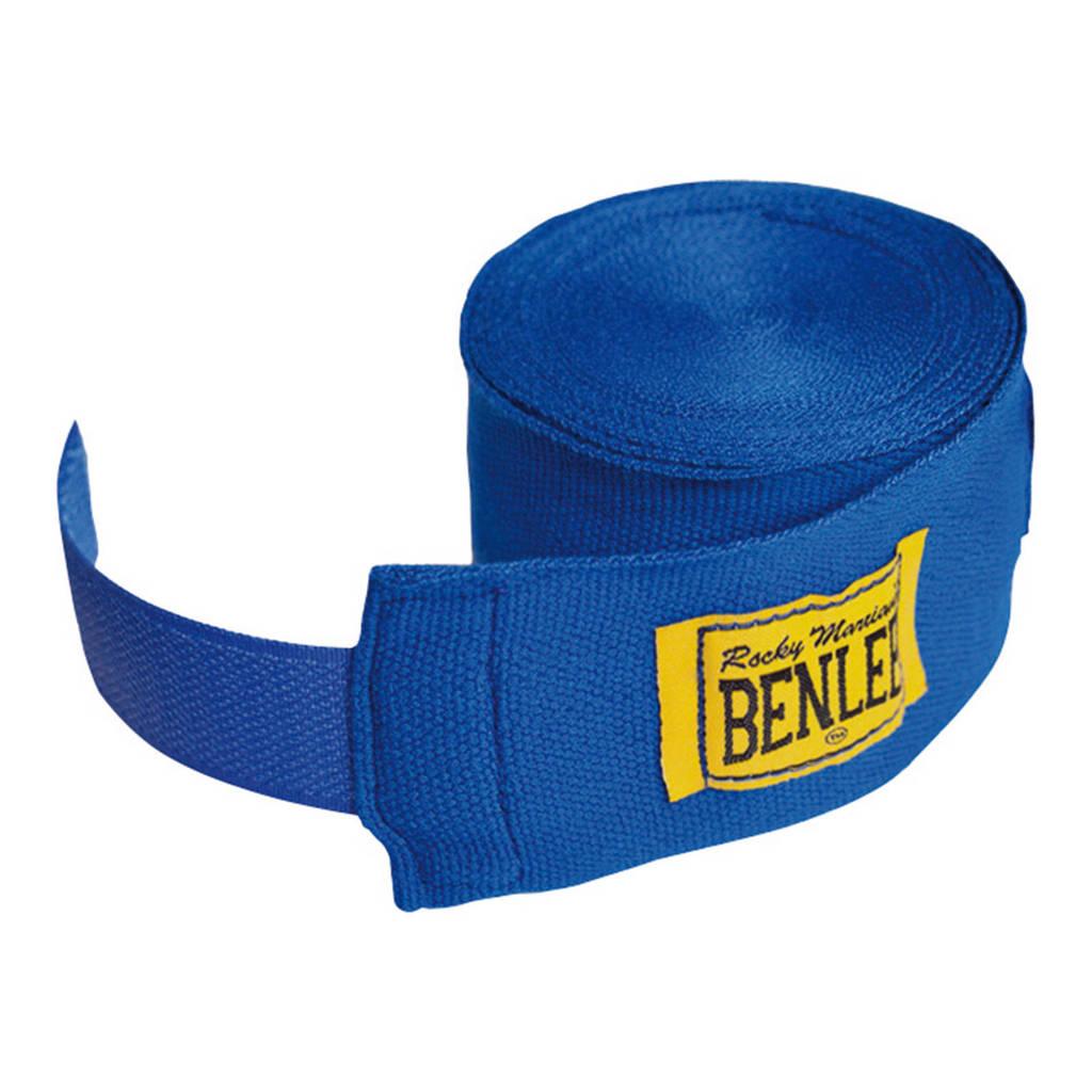 Benlee hand wraps bandage blauw - 4,5 meter, Blauw