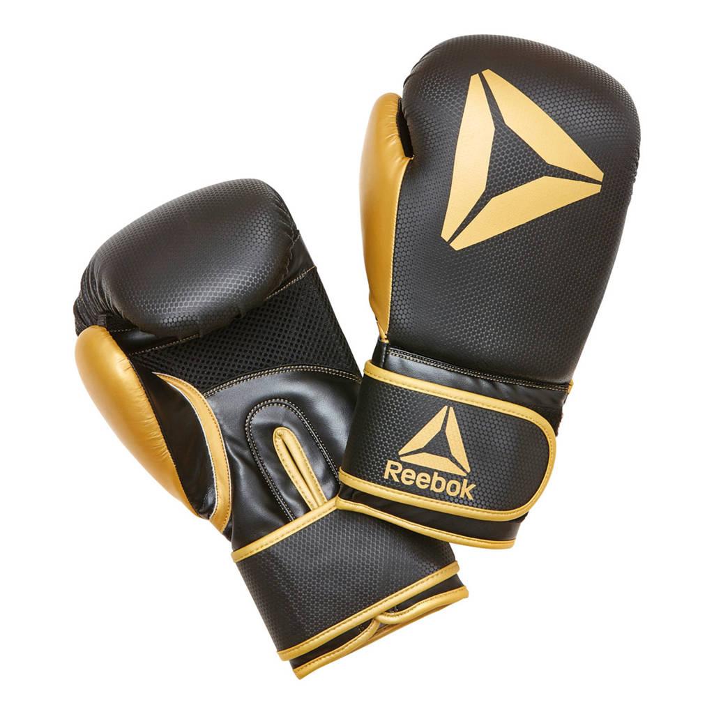 Reebok bokshandschoenen zwart/goud - 16 oz