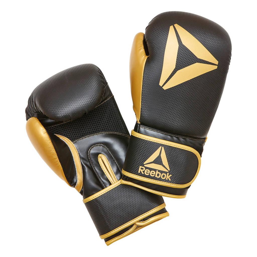 Reebok bokshandschoenen zwart/goud - 10 oz