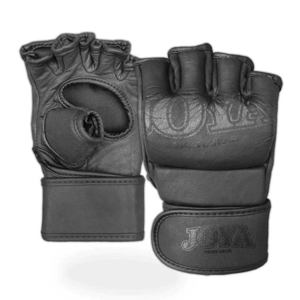 Joya leren MMA handschoenen - maat S, Zwart