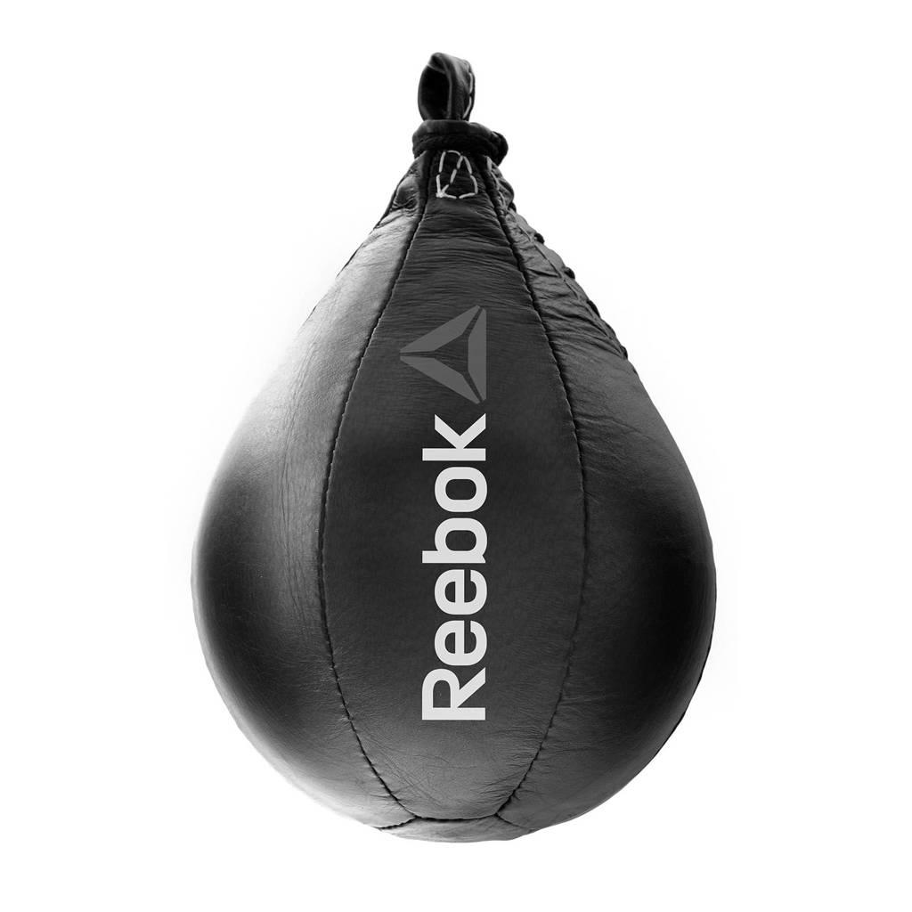 Reebok leren boksbal Combat zwart, Zwart