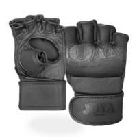 Joya leren MMA handschoenen - maat M, Zwart