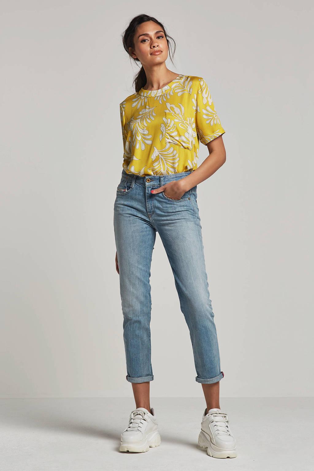 alchemist blouse met all over print geel, Geel