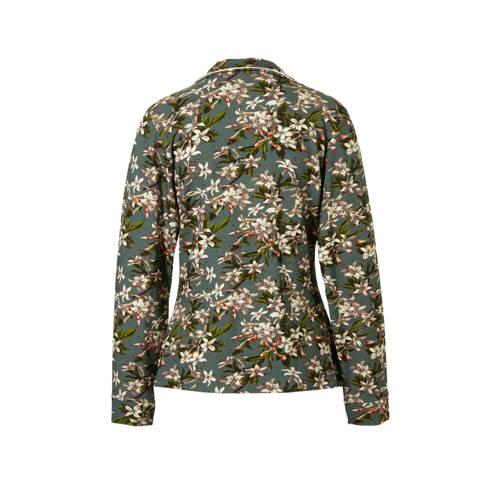 Essenza pyjamatop met all-over print groen kopen