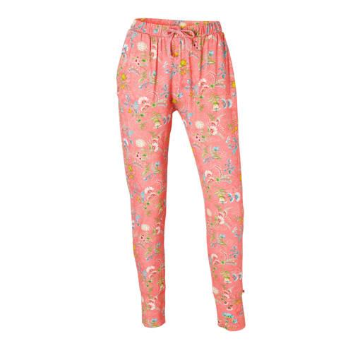 Pip Studio pyjamabroek met all-over print roze kopen