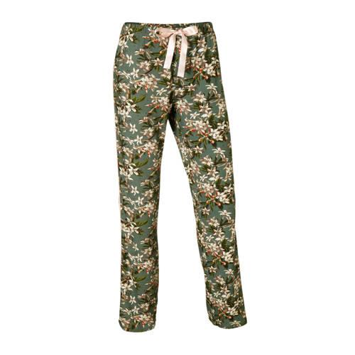 Essenza pyjamabroek met all-over print groen kopen
