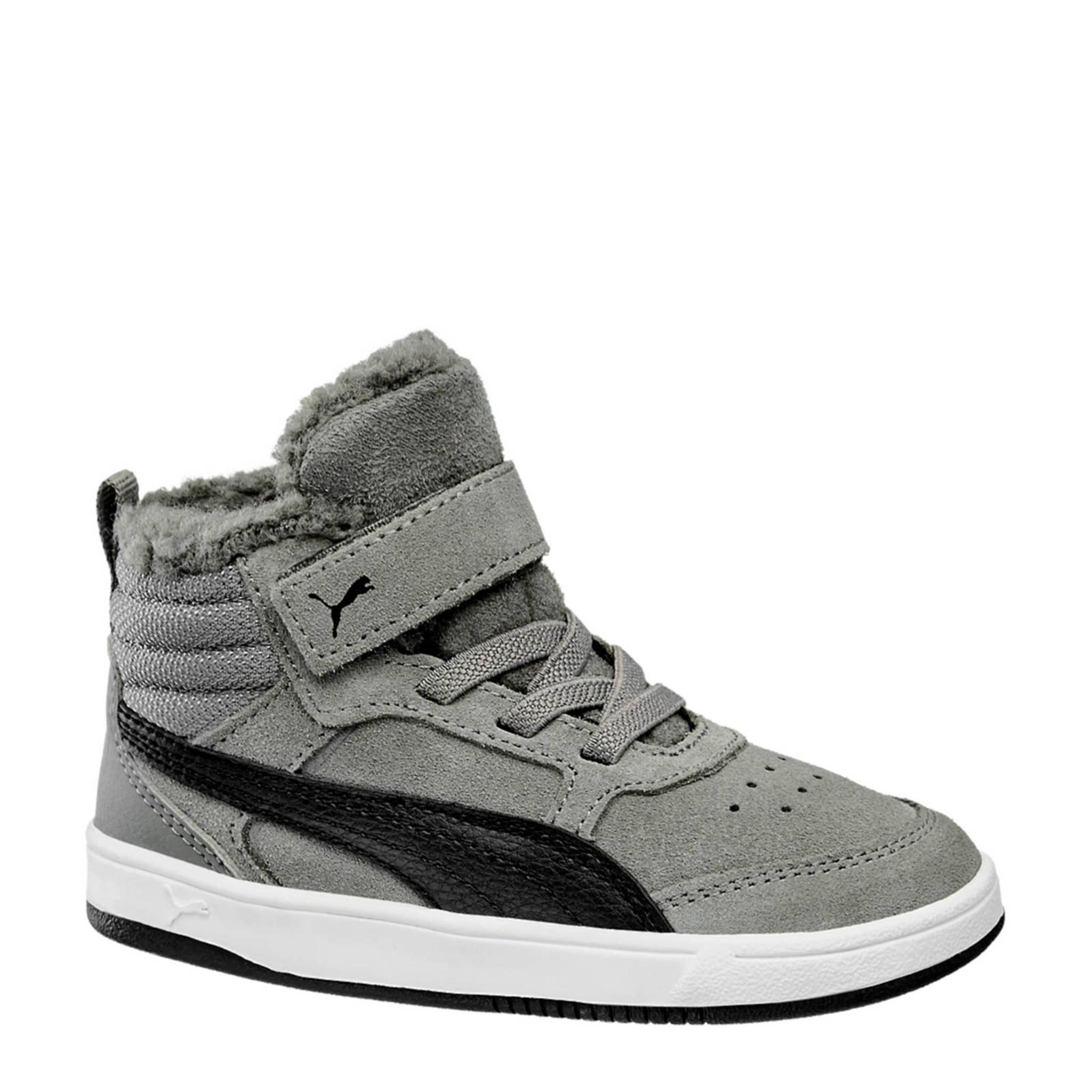 95af92c503d Puma Rebound Street V2 suède sneakers grijs | wehkamp