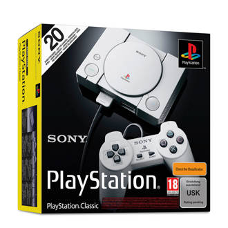 mini PlayStation classic console