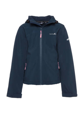 Mountain Peak softshell jas blauw