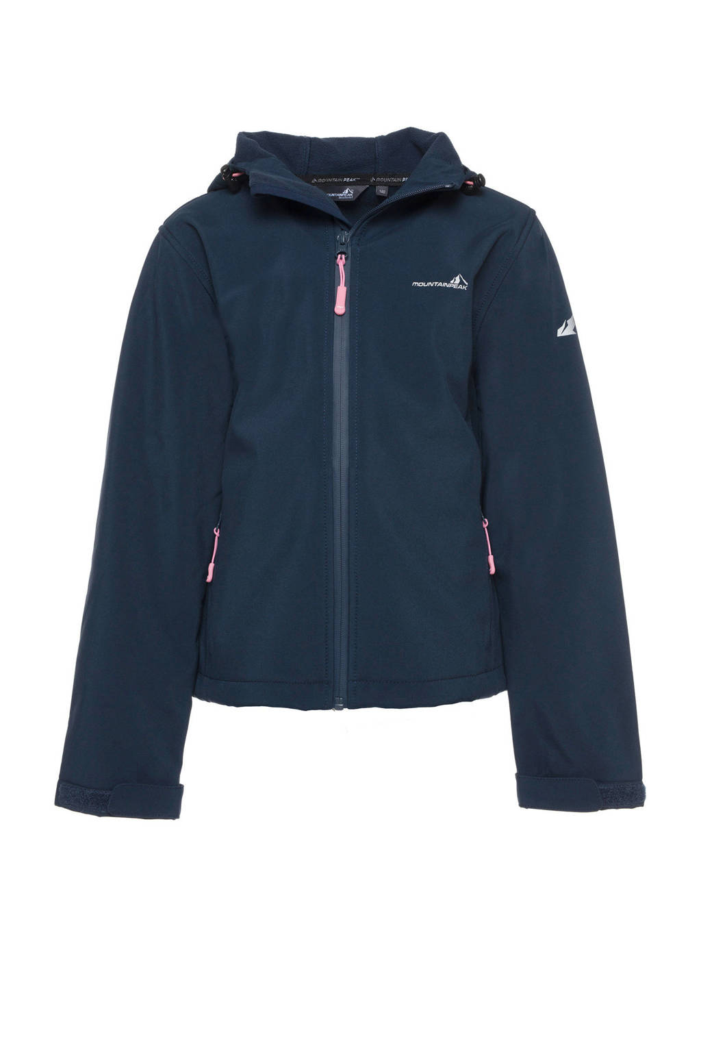Mountain Peak softshell jas blauw, Blauw