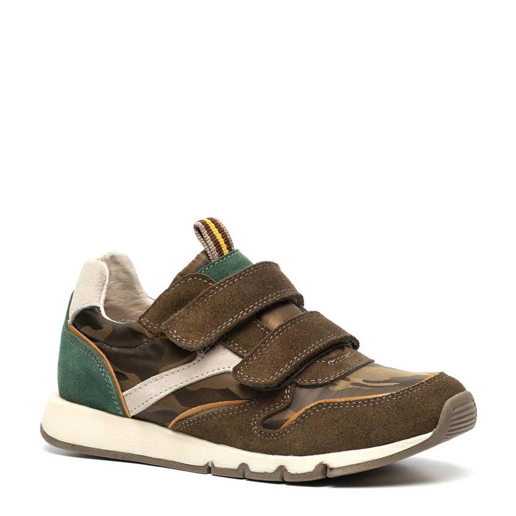 TwoDay  leren sneakers groen, Groen