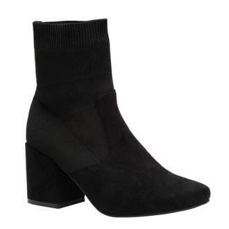 Blue Box sock boots zwart