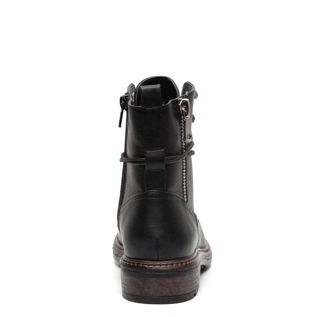 Zwart Veterboots Scapino Box Blue Scapino Blue TXPqUxfw
