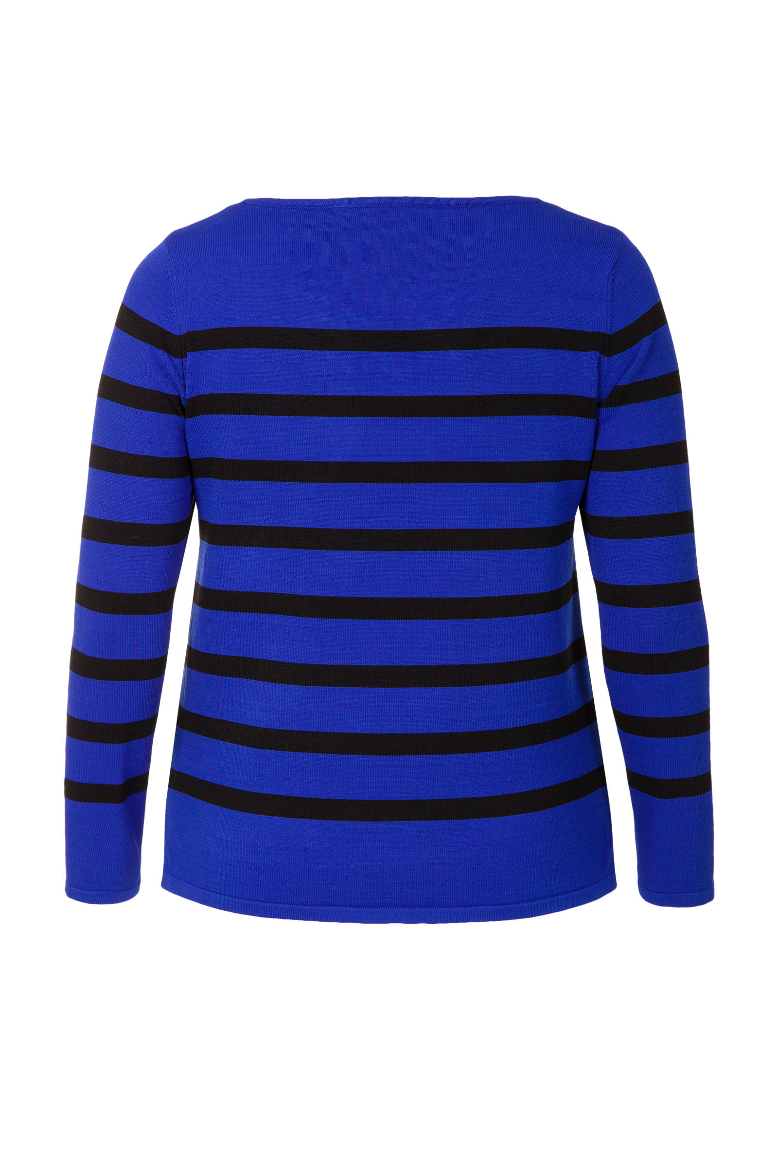 Miss Etam Plus trui gestreept zwart | wehkamp