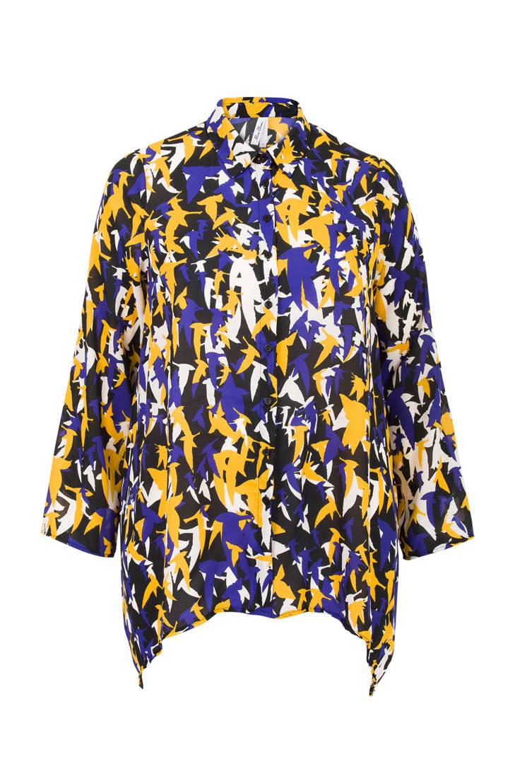 Etam met Miss blouse print Plus allover nBqdYaqx